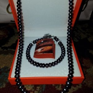 Mandarin Black Pearl set